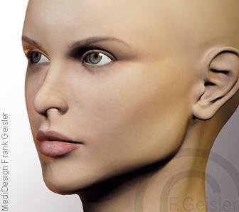 Ästhetische Medizin, Beauty Schönheit Anti-Aging durch Schönheitsoperation oder kosmetische Operation