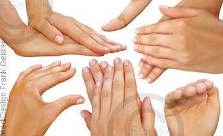 Massage Massagegriffe Massagetechniken mit der Hand